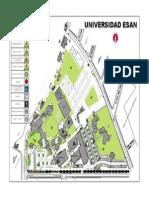 Mapa Campus ESAN
