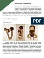 Yoga - Posturas de Yoga.