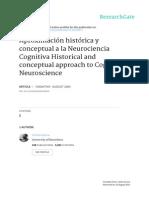 Aproximación Histórica y Conceptual a La Neurociencia Cognitiva