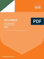 GP IGCSE Syllabus