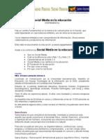 Social Media en Educacion Confe_Scd