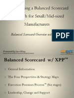 Implementing a Balanced Scorecard Approach for Manufacturers -Gilroy