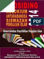 Prosiding Kolokium Antarabangsa Siswazah Pengajian Islam 2014