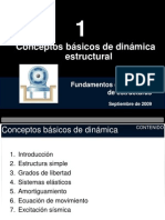 Conceptos Básicos de Dinámica Estructural