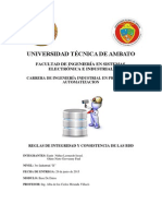Reglas de Integridad y Consistencia de Las Bases de Datos.
