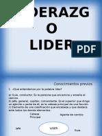 Liderazgo Clase 1