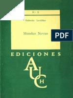 Roberto Levillier - Mundus Novus