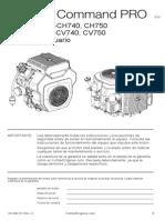 Manual de Operacion de motor kholer