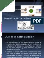 Normalizacion de Bd