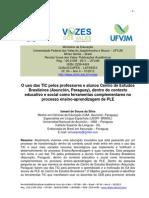 O Uso Das TIC Pelos Professores e Alunos Centro de Estudos Brasileiros Asunción Paraguay