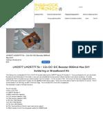 LM2577(T)5v-12v DC-DC -   Engineeringshock           Electronics