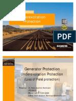 05 Underexcitation Protection