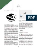 Wi-Fi Treatise