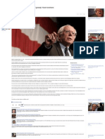Bernie Sanders Takes Aim at 'Greedy' Koch Brothers - Yahoo News