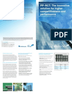 Pp Rct the Innovative Solution for Higher Competitiveness and Performance