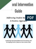 Behavior Intervention Guide-9.13