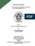 Institusi Perusahaan (Makalah Pengganti UAS)