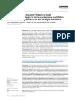 Asociación Entre Hipomovilidad Cervical y Cambios Morfológicos de Los Músculos Multífidos Cervicales en Pacientes Con Cervicalgia Mecánica