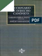Diccionario de Derecho Canonico
