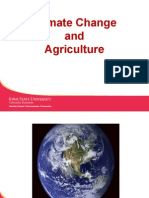 Climate Change and Agriculture