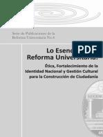 Lo Esencial de la reforma UNAH