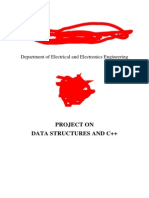 Data StructuresProject Report-Warshall's Algorithm
