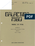 The Wheel of Fire Script