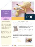 Sheep Knitting Pattern from Littleowlshut_free