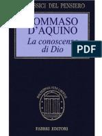 Tommaso d'Aquino - La conoscenza di Dio