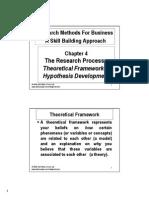 Theoretical Framework Hypothesis Development 2013