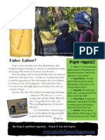 Labor of Love June - Aug 2015