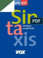 Sintaxe da linguaespanhola