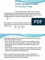 Bab 4-2 Teori Aliran Fluida-Dinamika Fluida.pptx