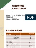 bahan Buatan dalam Industri ppt