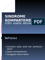 SINDROME KOMPARTEMEN