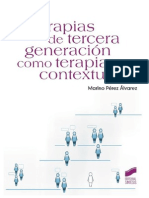 Las Terapias de Tercera Generación Como Terapias Contextuales - Prólogo