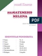 Responsi Hematemesis by Padma