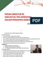 Peran Direktur Dan Ketu Tim Dalam Persiapan Survei 2