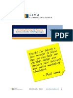 Lima Consulting Group Capabilities Brief