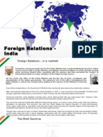 Foreign Relations - India