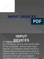 input devices presentation