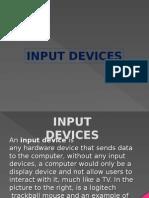 input devices presentation