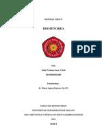 Referat Dysmenorrhea (Obg)