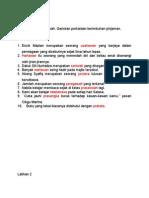 Latihan imbuhan pinjaman