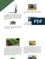 Farm Tools and Equipments