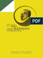 Iso Kršnjavi – Veliki Utemeljitelj (2012) - Knjizica Sazetaka