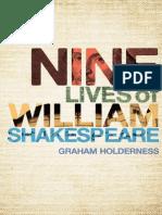 Nine Lives of William Shakespeare—Graham Holderness
