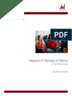 Migration of Minorities in Pakistan