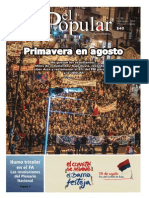 El Popular 320 Órgano de Prensa Oficial del Partido Comunista de Uruguay
