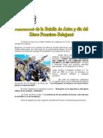 07 de JUNIO (1) - Aniversario de La Batalla de Arica y Día de Francisco Bolognesi.